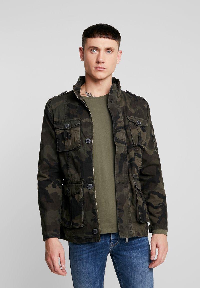 Brave Soul - BRUNSWICKCAM - Denim jacket - khaki