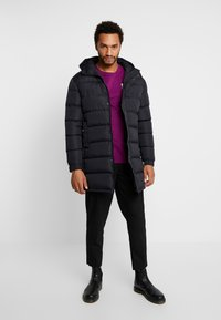 Brave Soul - ALLEN - Winter coat - black/white