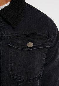Brave Soul - RIVERDALBORG - Veste en jean - black denim - 5