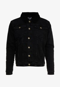 Brave Soul - RIVERDALBORG - Veste en jean - black denim - 4