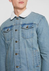 Brave Soul - LARSONBORG - Trainingsjacke - light blue denim/cream - 6