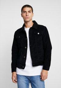 Brave Soul - PRESTWICH - Summer jacket - black - 0