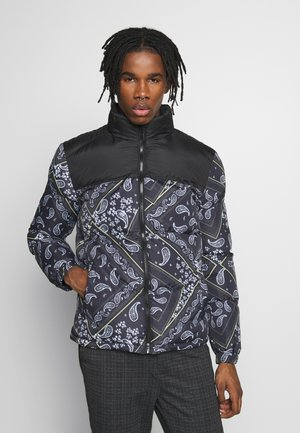 DAVISPAISLEY - Winter jacket - black/navy