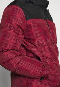 Brave Soul - CASSIUS - Winter jacket - black upper/red print - 5