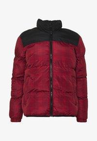 Brave Soul - CASSIUS - Winter jacket - black upper/red print - 4