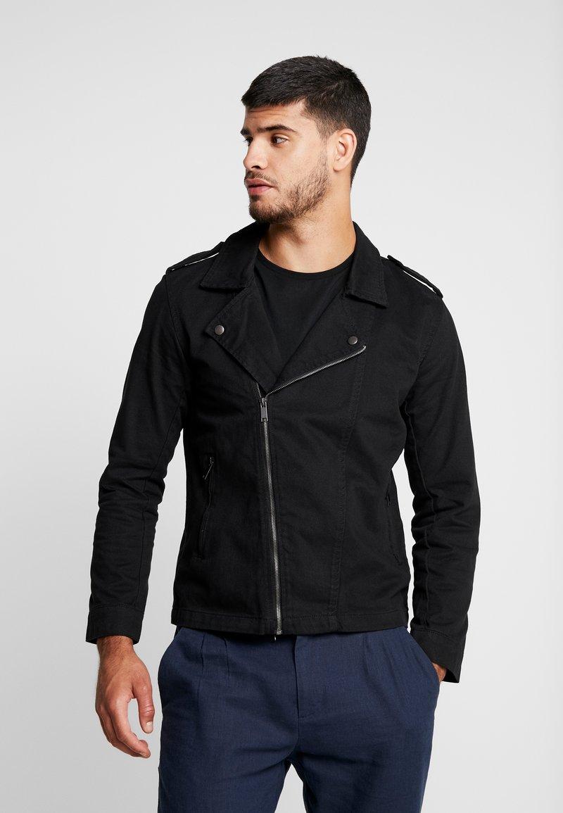 Brave Soul - GROUSE - Denim jacket - black