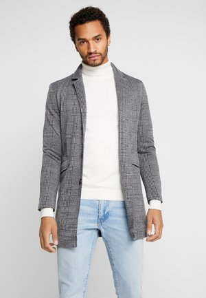 ROBERTS - Zimní kabát - grey check
