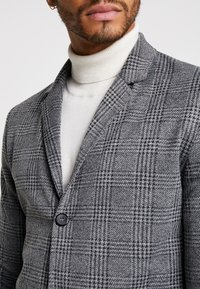 Brave Soul - ROBERTS - Wollmantel/klassischer Mantel - grey check - 5