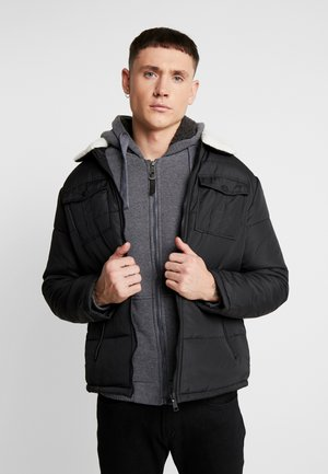 CONNOLLY - Chaqueta de entretiempo - black/cream