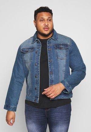 FIELDING - Jeansjakke - blue denim