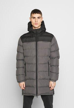 ALBIE - Winter coat - black/grey