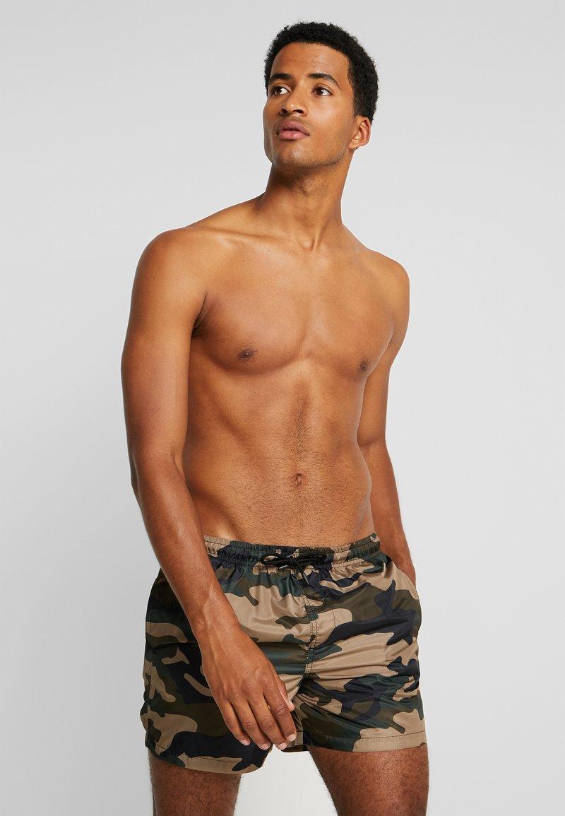 Brave Soul - COLUMBIA - Swimming shorts - khaki