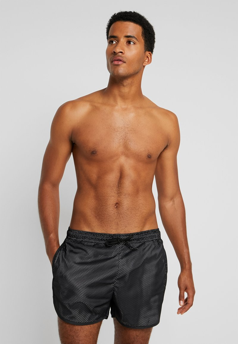 Brave Soul - JOHNNY - Swimming shorts - black