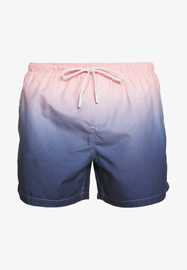 ZANTE - Badeshorts - pink/navy