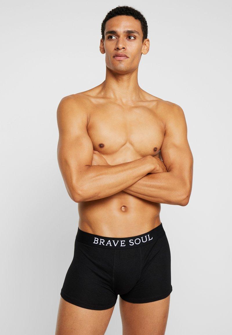 Brave Soul - ALASTAIR 5 PACK - Underkläder - black