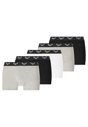 COLIN 3 PACK - Onderbroeken - black/ mottled grey/ white