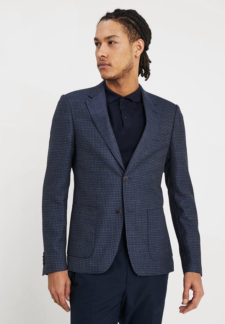 Bruun & Stengade - BARZINI SLIM FIT - Blazer jacket - navy