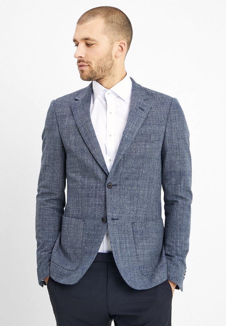 Bruun & Stengade - BONASERA SLIM FIT - Blazer jacket - blue