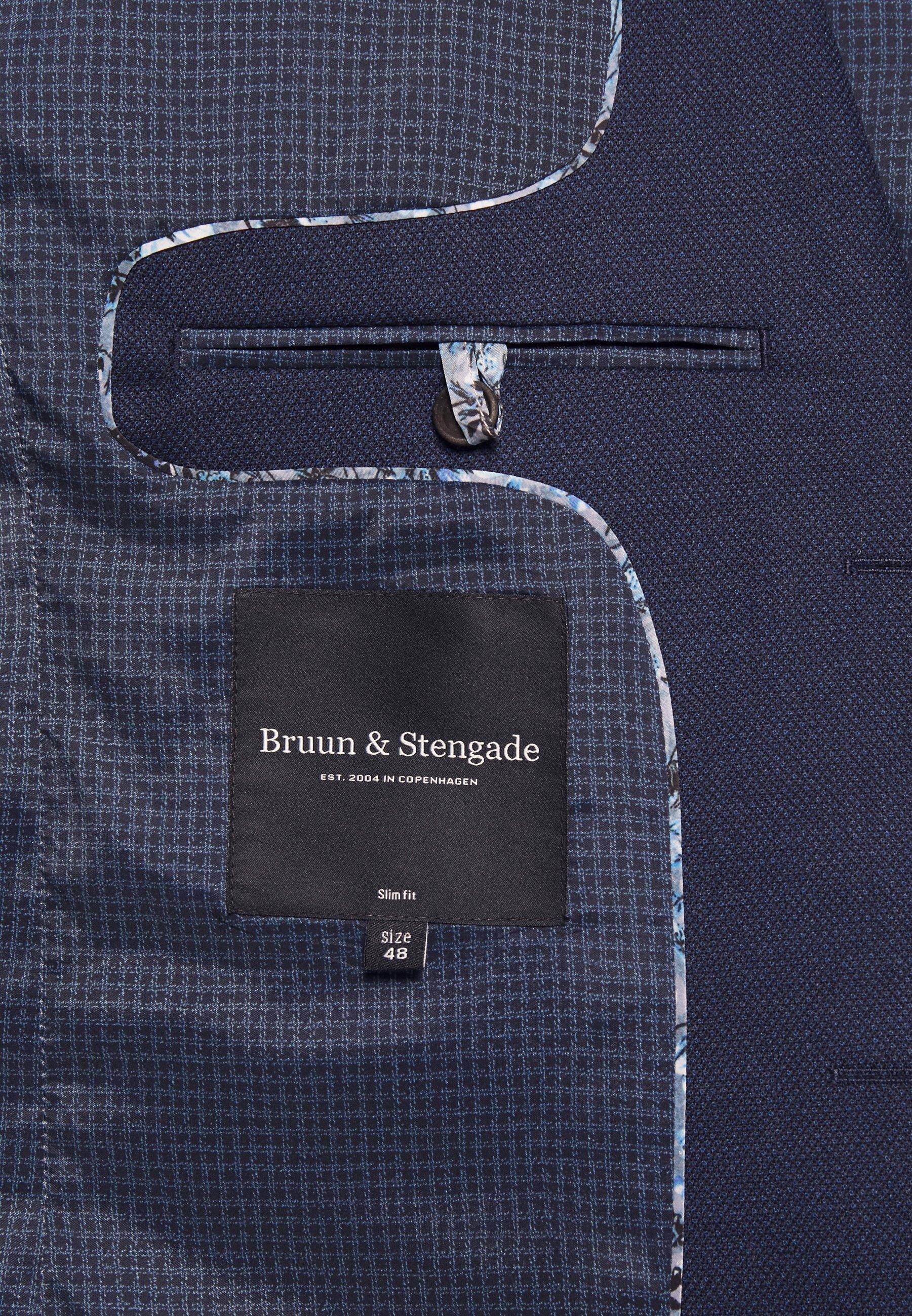 Bruun & Stengade ABRUZZO SLIM - Garnitur - navy