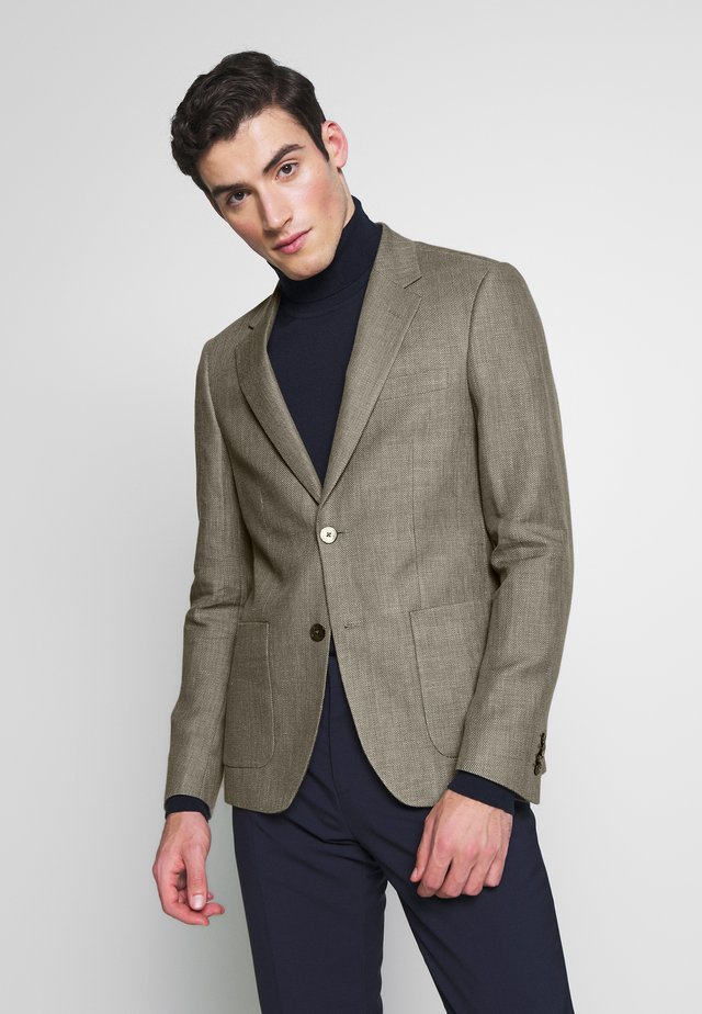 TRENTINO SLIM FIT - Blazer jacket - sand