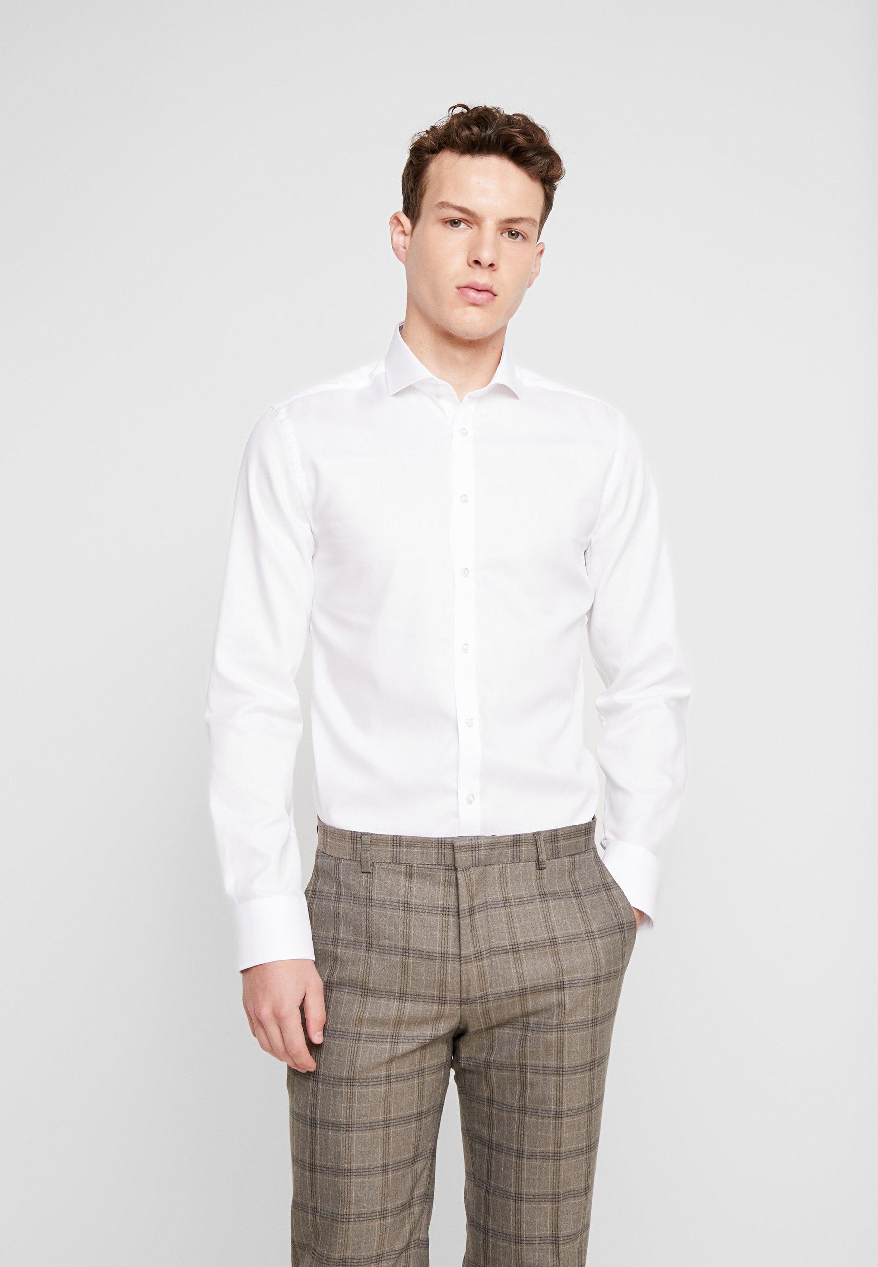 Bruun & Stengade LUTHER - Koszula biznesowa - white