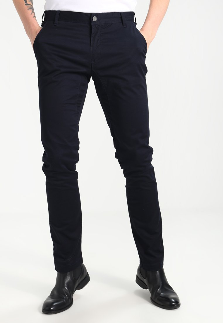 Bruun & Stengade - FLASH - Pantalones chinos - navy