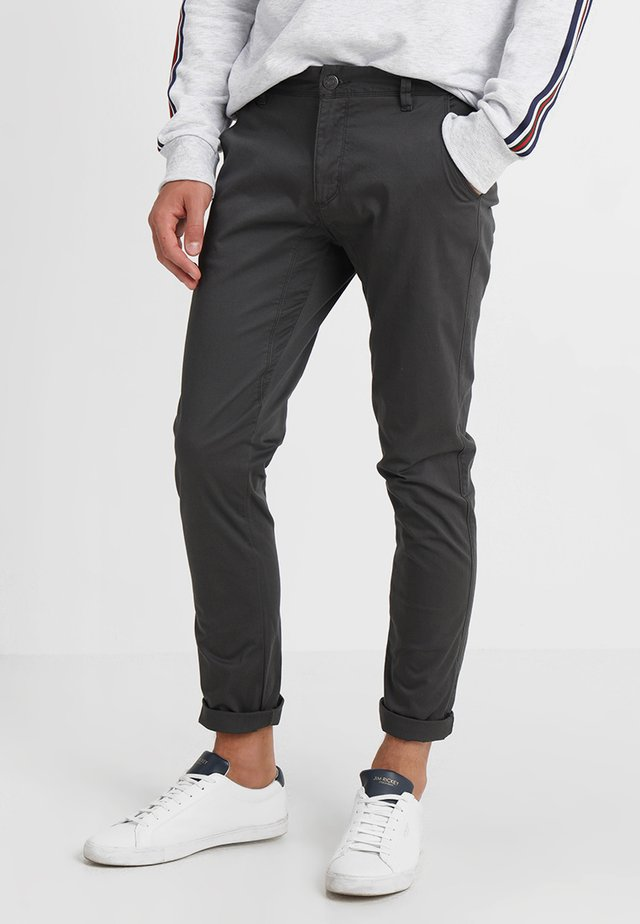 FLASH - Chinos - anthracite