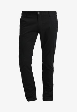 FLASH - Chino kalhoty - black