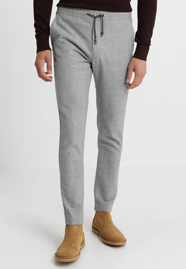 Bruun & Stengade - GARCIA - Stoffhose - light grey