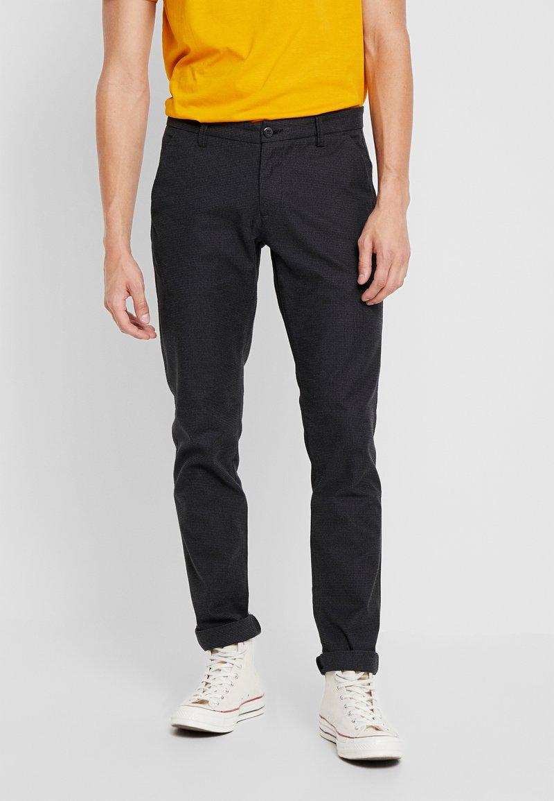 Bruun & Stengade - KLAY - Pantalones chinos - black