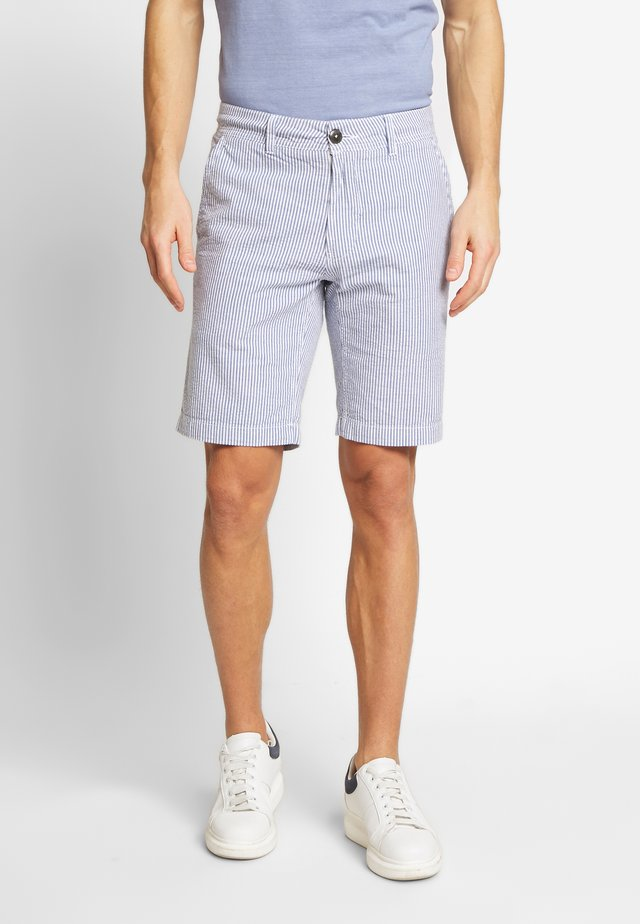 TULUM SLIM - Shorts - blue