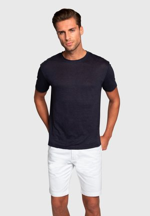 TAORMINA - Basic T-shirt - navy