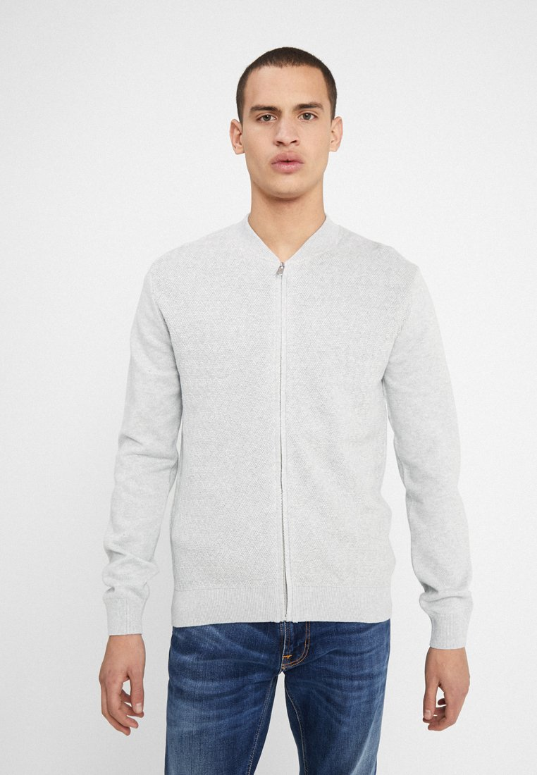 Bruun & Stengade - VINNIE REGULAR FIT - Cardigan - grey