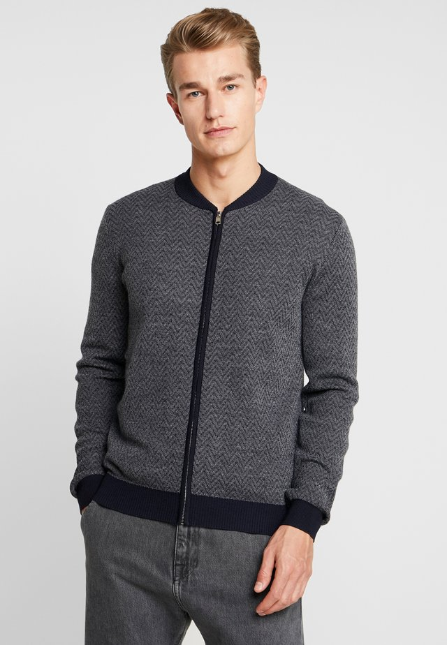 THISTLE - Cardigan - navy