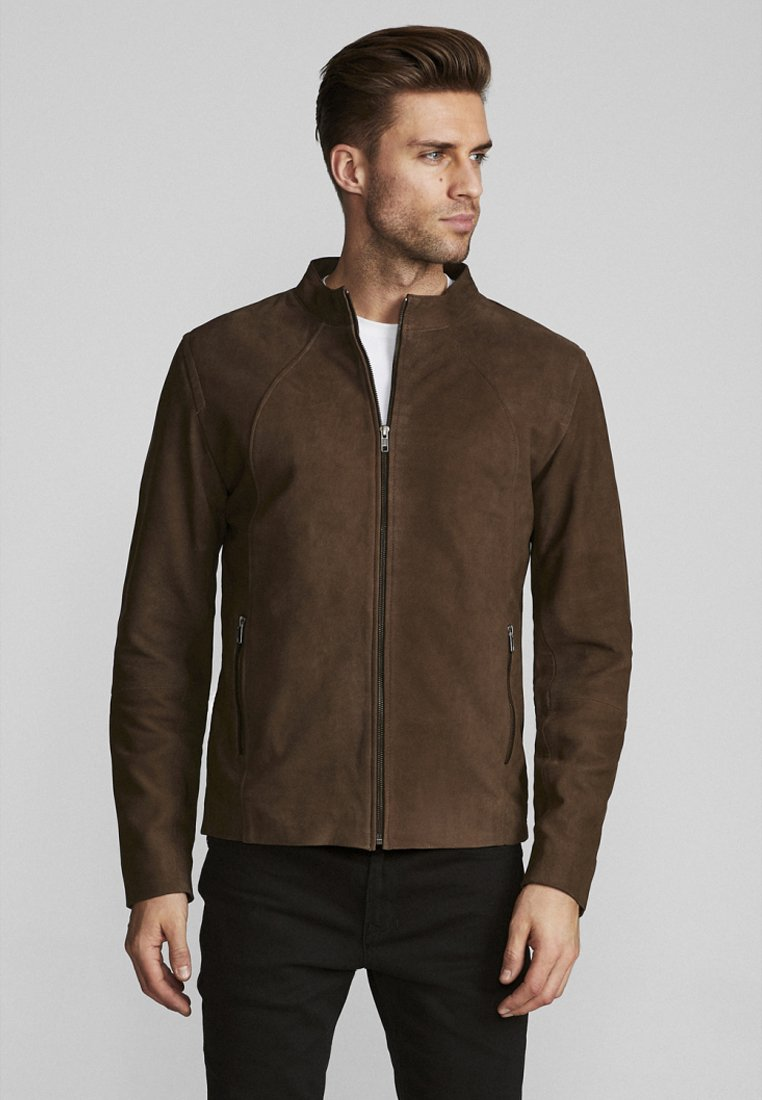 Bruun & Stengade - ERP - Leather jacket - brown