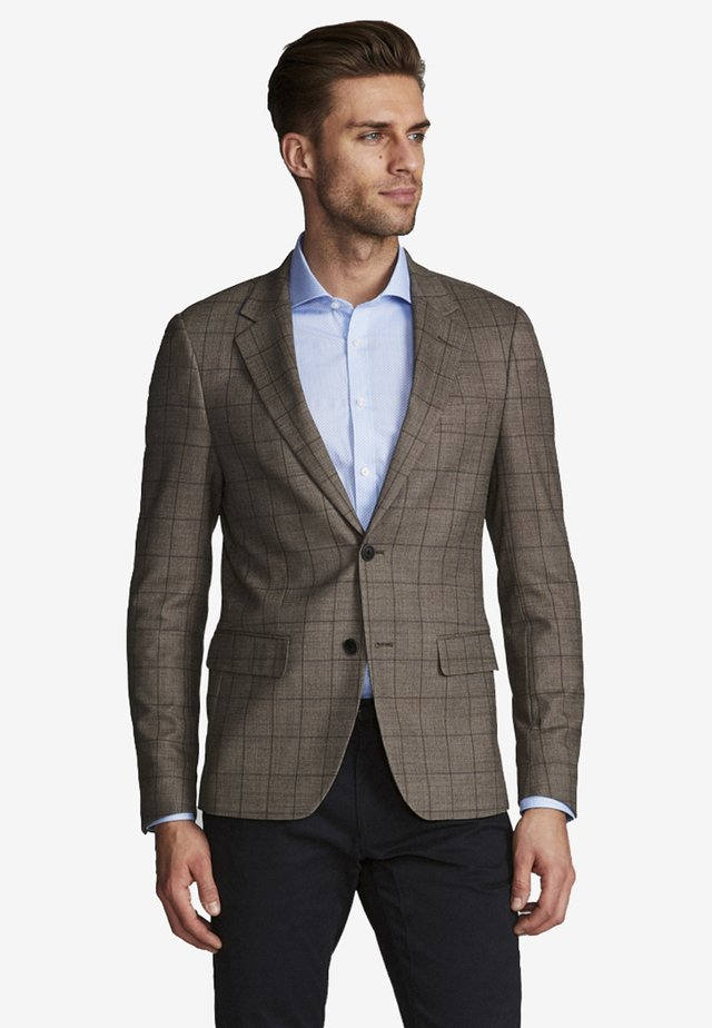 BS CLAMENZA - Blazer jacket - brown