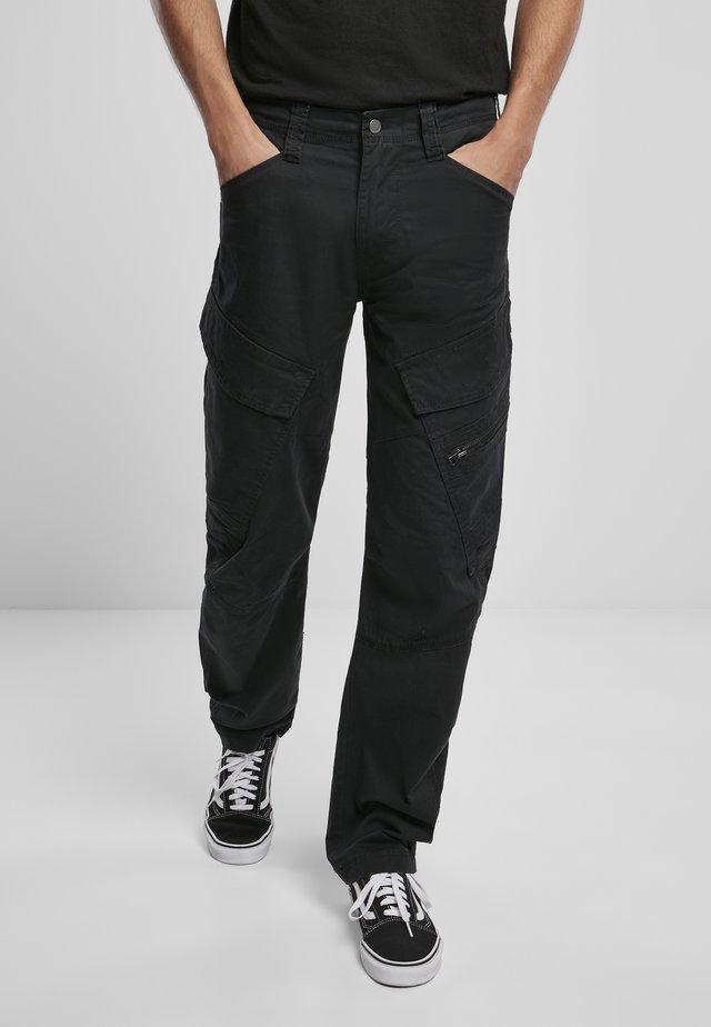 ACCESSOIRES ADVEN  - Pantalon cargo - black