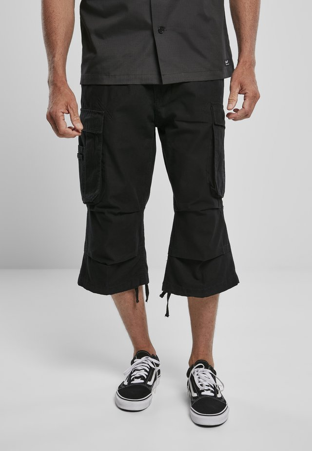 3/4 SHORTS - Cargobroek - black