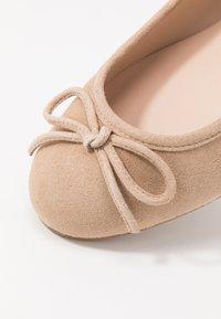 Brenda Zaro Wide Fit - WIDE FIT CARLA - Ballet pumps - pietra - 2