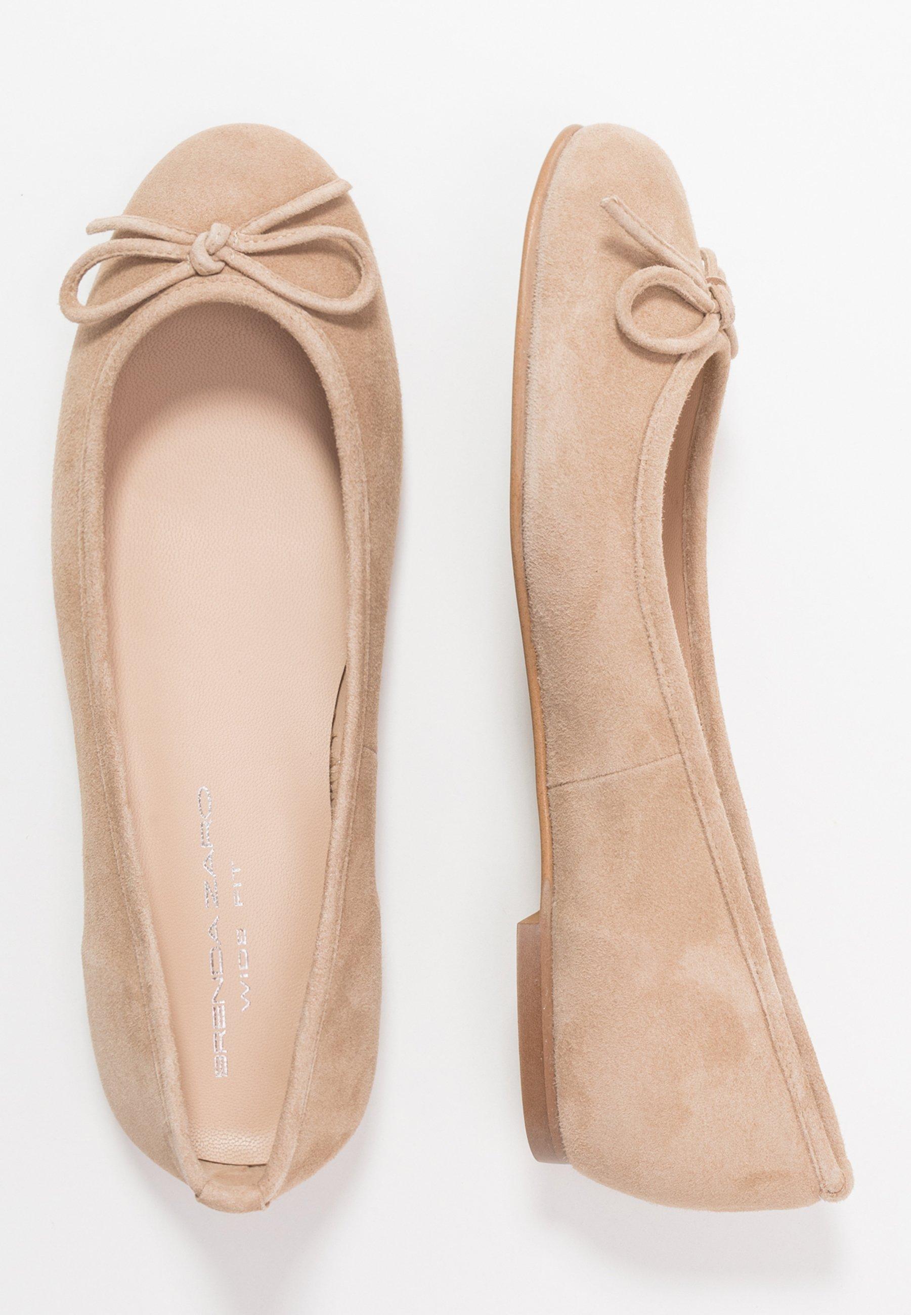 Brenda Zaro Wide Fit Carla - Ballet Pumps Pietra