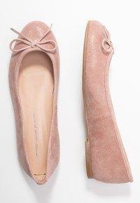 Brenda Zaro Wide Fit - WIDE FIT CARLA - Ballet pumps - rose - 3