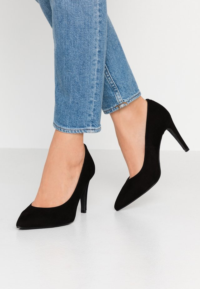 WIDE FIT DIAN - High Heel Pumps - black