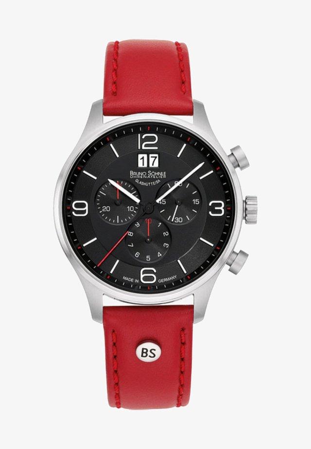 Chronograph - red