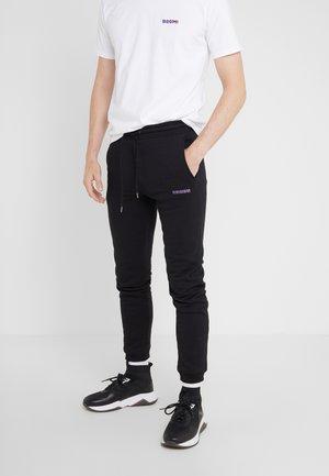 PANTS MAN SMALL BOOM - Joggebukse - black