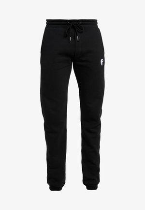 PANTS MAN SMALL YIN YANG - Jogginghose - black
