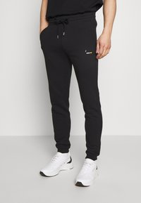 Bricktown - PANTS CIGARETTE - Tracksuit bottoms - black - 0