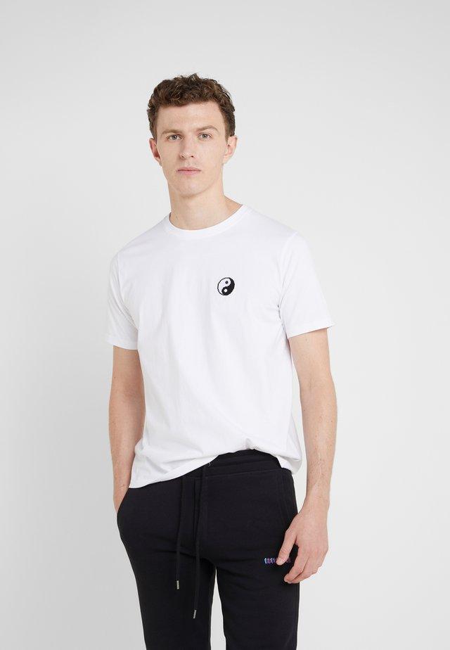 SMALL YIN YANG - T-shirts basic - white
