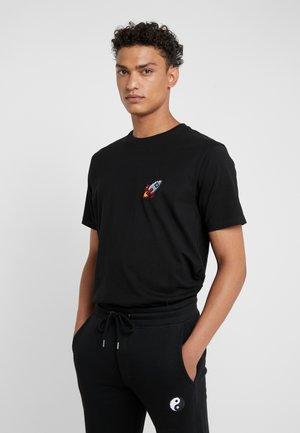 SMALL SPACESHIP - T-Shirt print - black