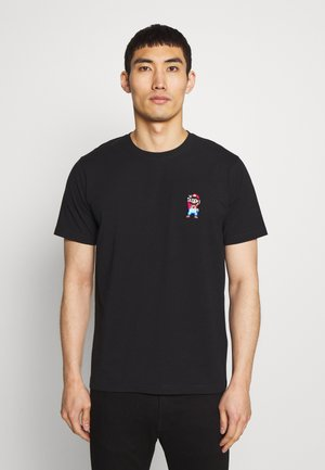 MARIO PEACE - T-shirt print - black