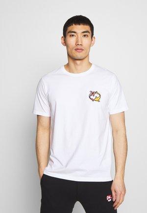 KOI CARPS SMALL - Print T-shirt - white